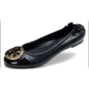 Tory Burch Ballet Flat Leather